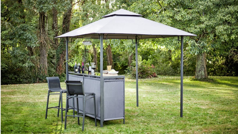 Argos' Gazebo With A Built-In Bar Is Now Only £200