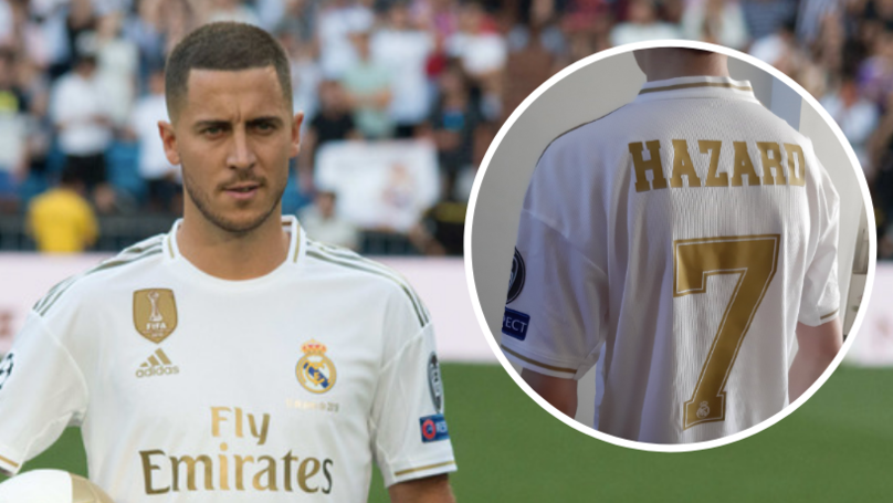 It Looks Like Eden Hazard Will Become Real Madrid's New Number 7