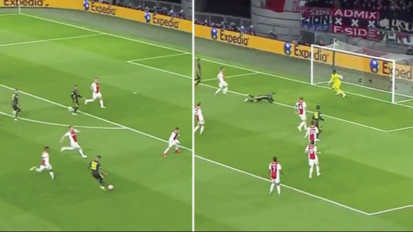 Cristiano Ronaldo Scores His 125th Champions League Goal Against Ajax