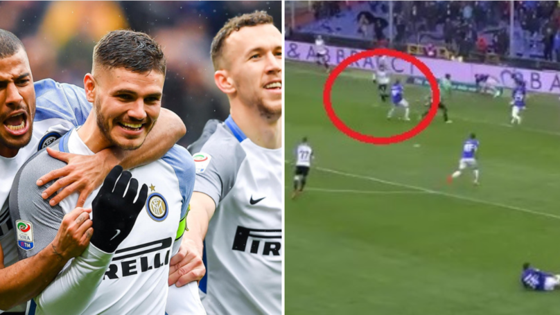 Mauro Icardi Scores Brilliant Backheel In Four Goal Romp Against Sampdoria