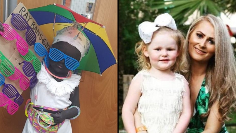 Mum Insists She's Not Racist After 'Blacking Up' Daughter For Halloween