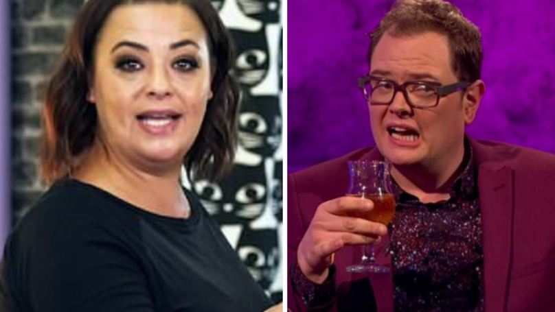 Lisa Armstrong Shares Her Love For Alan Carr On Twitter