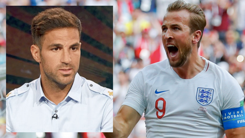 Cesc Fabregas Takes Cheeky Dig At Harry Kane After World Cup Hat-Trick