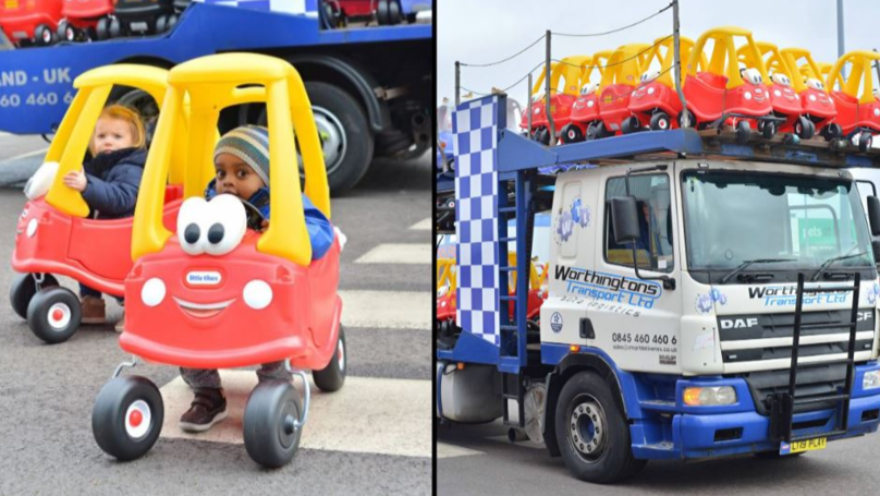 Kids Cozy Coupe Is Officially Britain's Best-Selling Car