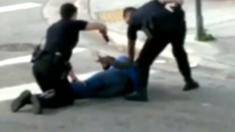 Cop Caught On Camera Accidentally Tasing Partner In Botched Arrest