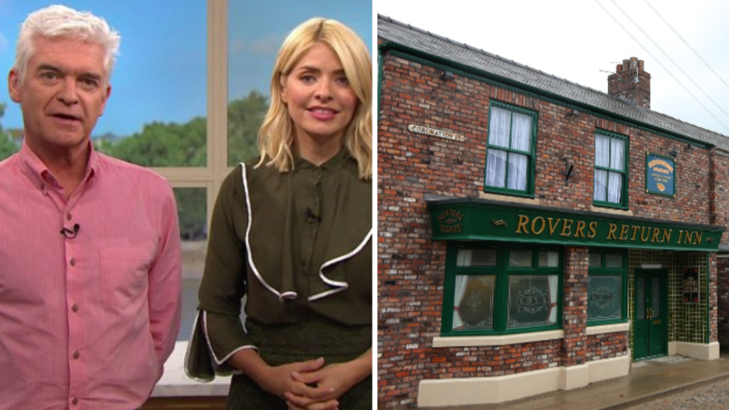 Holly Willoughby And Phillip Schofield To Appear On Coronation Street