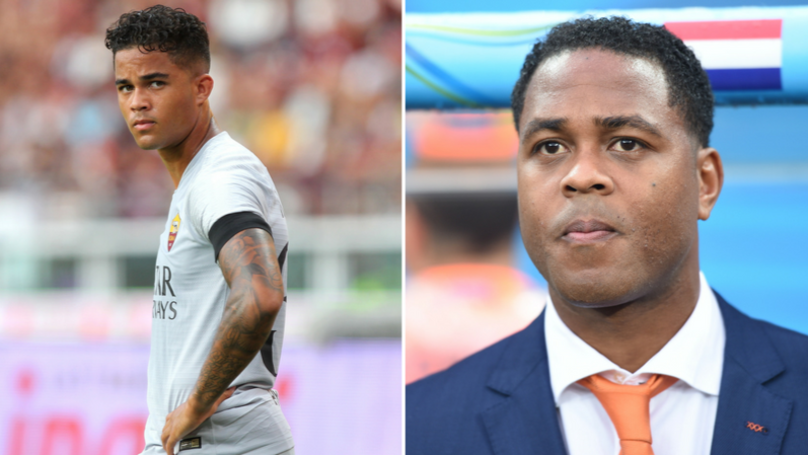 Patrick Kluivert Explains Why Son Justin Moved To Roma