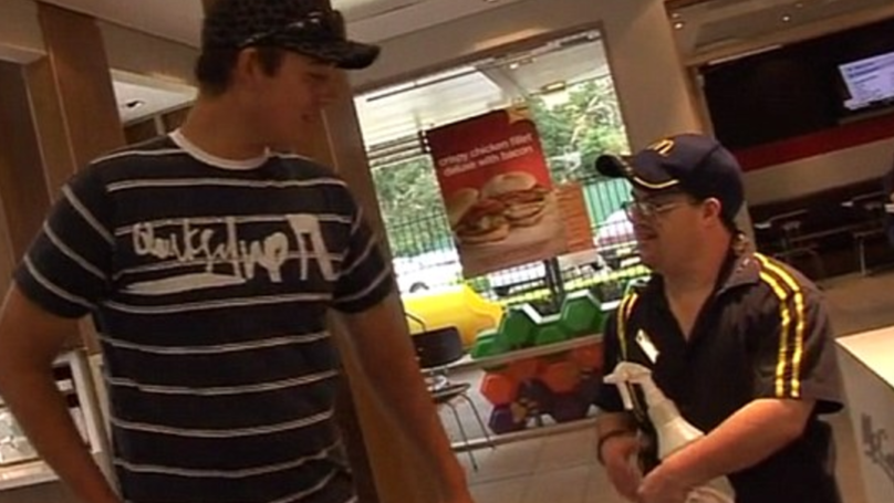 This Man With Down's Syndrome Has Worked In McDonald's For Over 30 Years