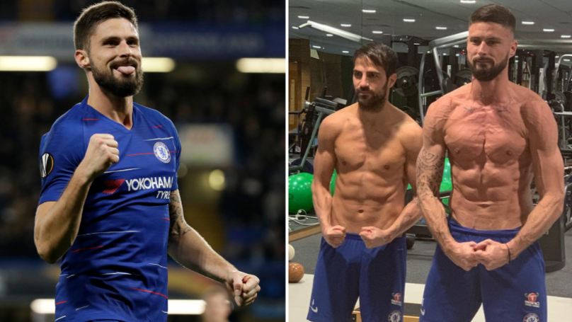 Olivier Giroud Is More Ripped Than Anyone Expected Him To Be
