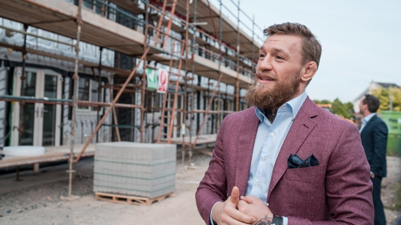 Conor McGregor Building Houses For Homeless Families