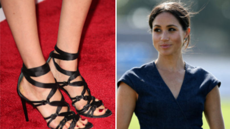 People Are Trolling Meghan Markle Because Of Her Feet