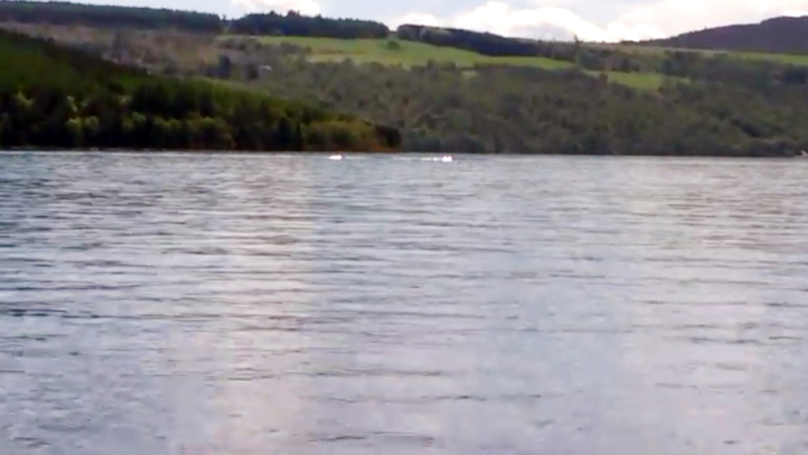 Eight-Year-Old Captures Footage Of 'Loch Ness Monster'
