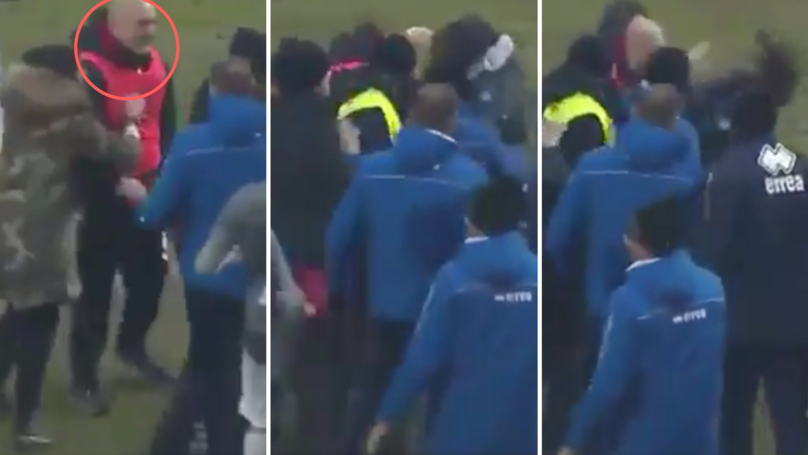Serie C Manager Handed A Five-Month Ban After Headbutting Rival