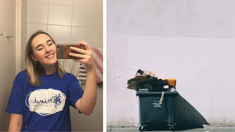 Student Makes Passive Aggressive Survey For Housemates On How To Use Bins