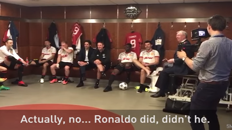 WATCH: Sir Alex Ferguson's Brilliant Team Talk Prior To Michael Carrick's Testimonial | SPORTbible