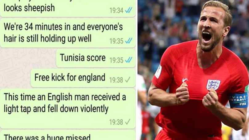 Boyfriend Asks For England Vs Tunisia Updates, Girlfriend Brilliantly Replies With Unique Commentary