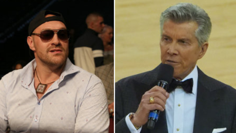 Tyson Fury Responds To Michael Buffer's Controversial Tweet