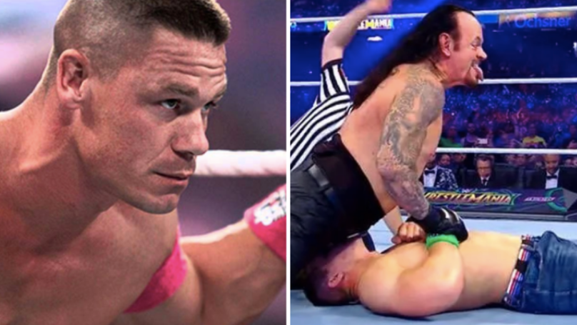 John Cena Admits To Getting 'Accidental Boner' While Wrestling