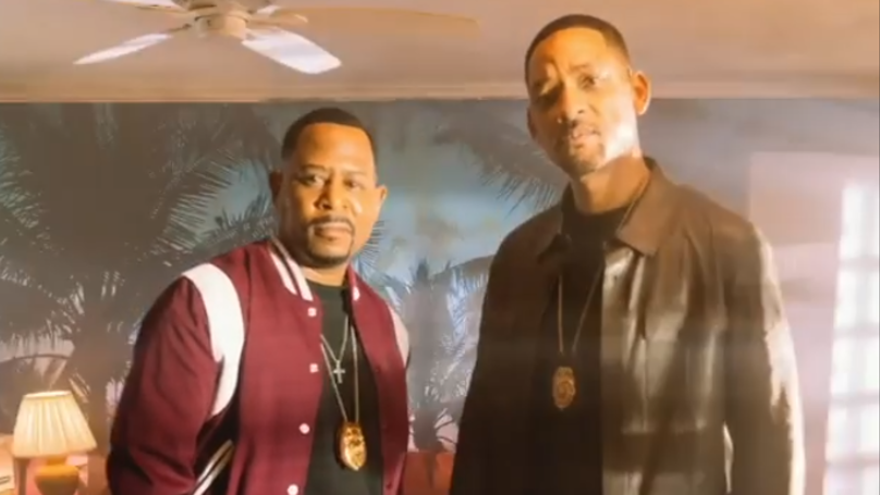 Will Smith Shares 'First Look' At Bad Boys 3