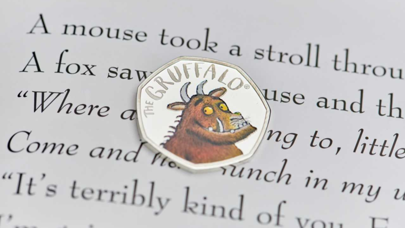 First Look At New Gruffalo Coin Going On Sale Today
