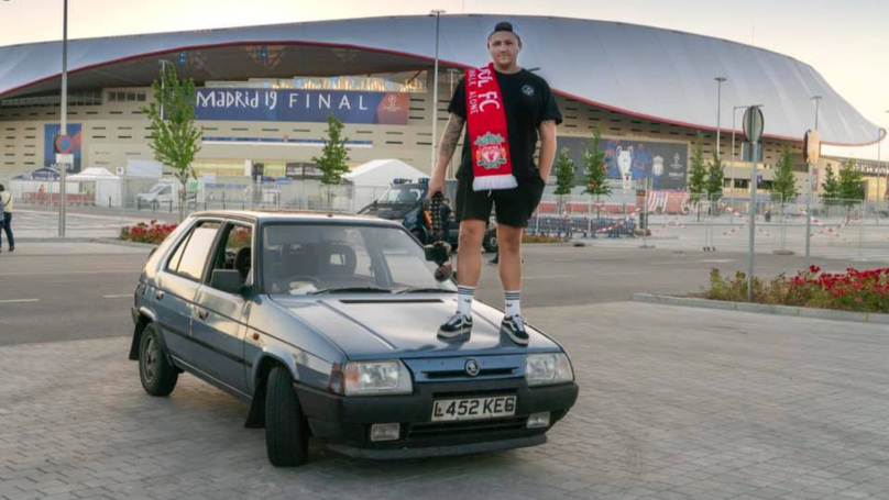 Liverpool Fan Who Drove £40 Car To Champions League Final Returns To Anfield