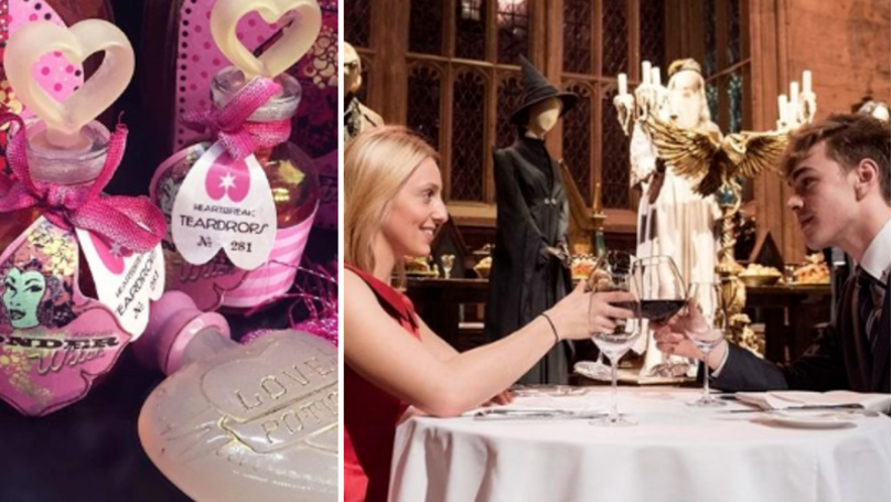 You Can Have Valentine's Day Dinner In The Great Hall At Hogwarts