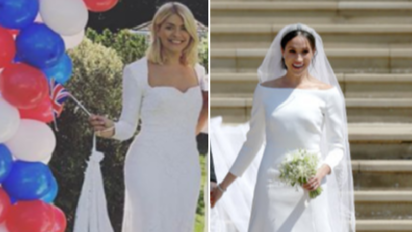 Holly Willoughby Is Slammed For Controversial Royal Wedding Outfit