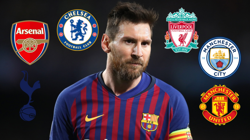 Lionel Messi Has Now Scored 26 Times Against The Premier League's Top Six