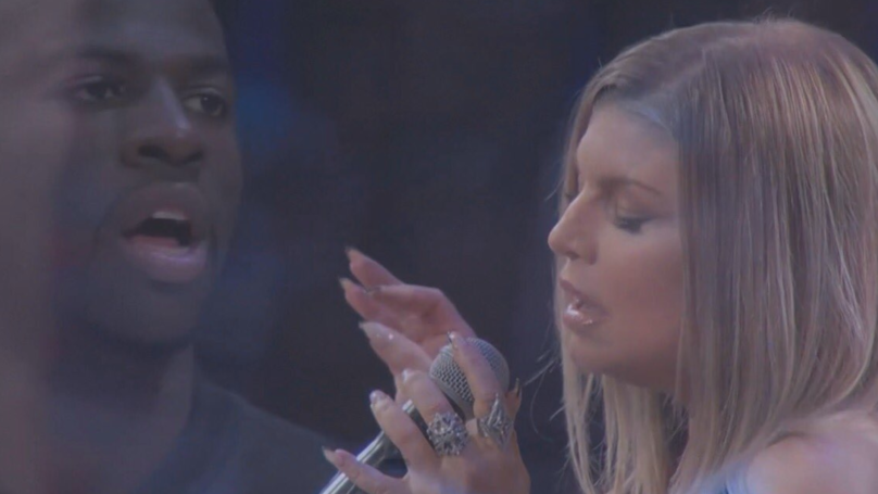Viewers Left Gobsmacked By Fergie's Rendition Of US National Anthem