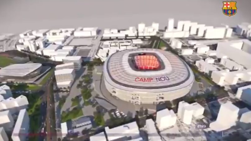 Barcelona Unveil Plans To Extend Camp Nou To 105,000