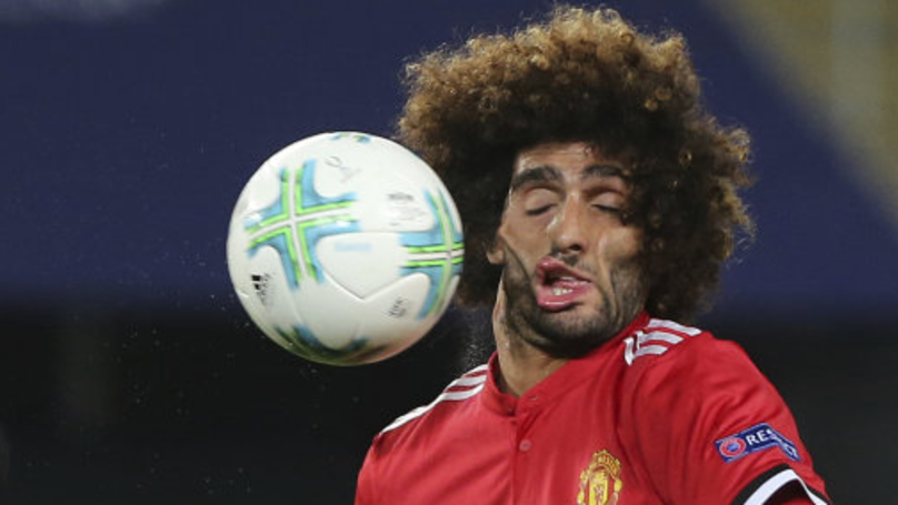 Axel Witsel Has Started The Fellachallenge In Tribute To Marouane Fellainis Face Sportbible