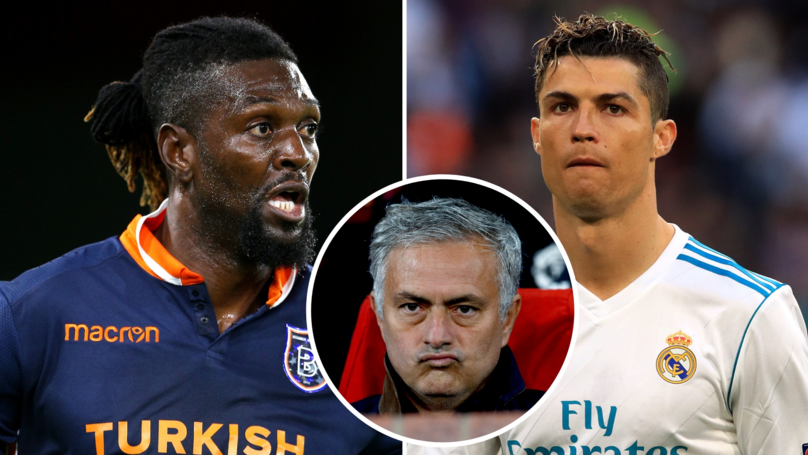 Emmanuel Adebayor Recalls The Exact Moment José Mourinho 'Killed' Cristiano Ronaldo