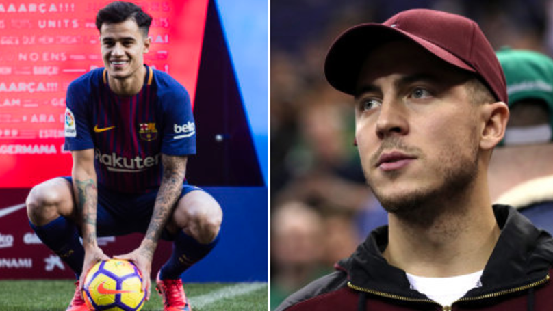 Hazard Speaks About Coutinho's Barcelona Transfer, And He's Absolutely Nailed It