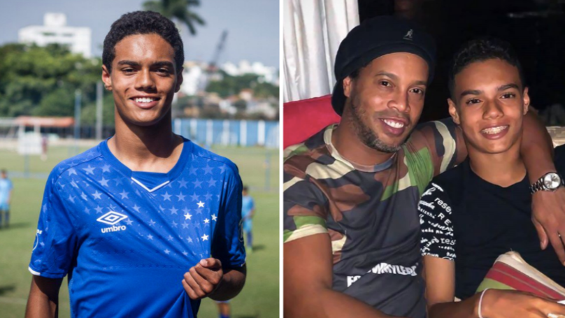 Ronaldinho's 14-Year-Old Son Signs First Professional Contract