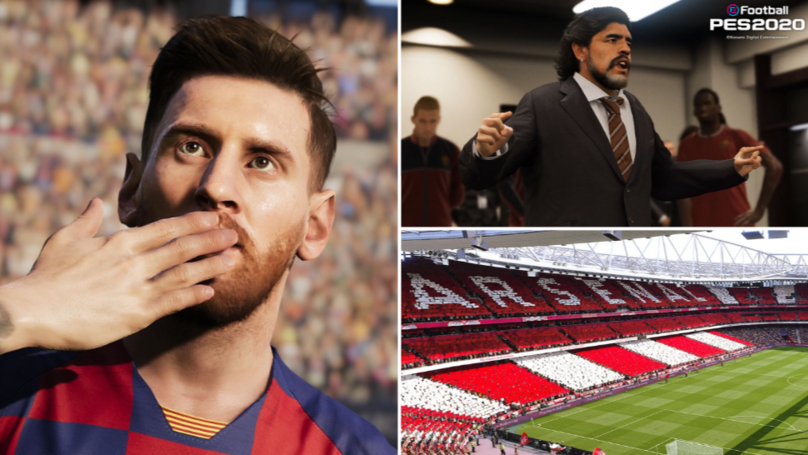 Screenshots From PES 2020 Shows How Amazing It Looks, Could Rival FIFA 20