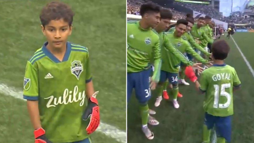 Seattle Sounders Start Eight-Year-Old Leukemia Patient In Goal For Borussia Dortmund Friendly