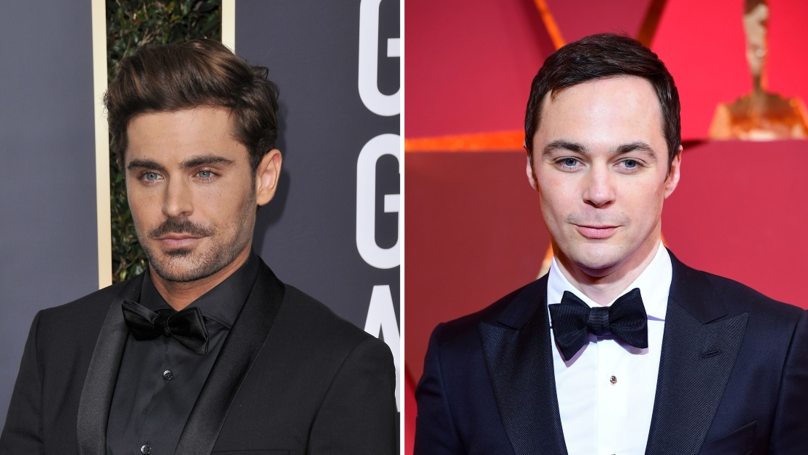 Zac Efron And Jim Parsons Appear In New Snap For Ted Bundy Biopic