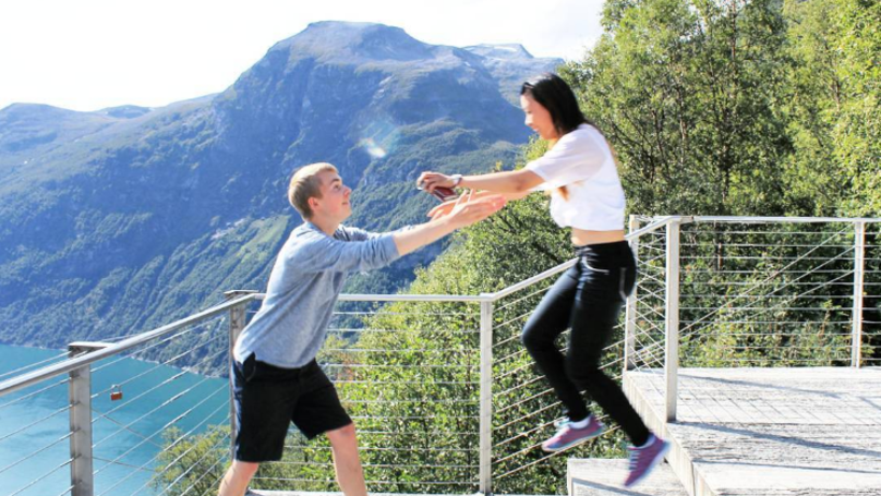 Girl Tracks Down Guy On Twitter, Finds True Love And Travels the World
