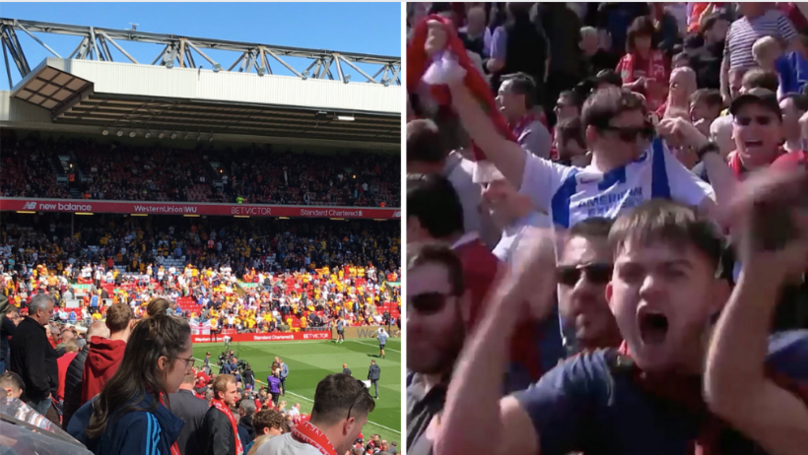 Wolves Supporters Started 'Fake Brighton Goal Celebrations' To Confuse Liverpool Fans At Anfield