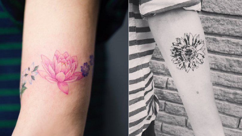 These Floral Tattoos Are Bloomin' Gorgeous