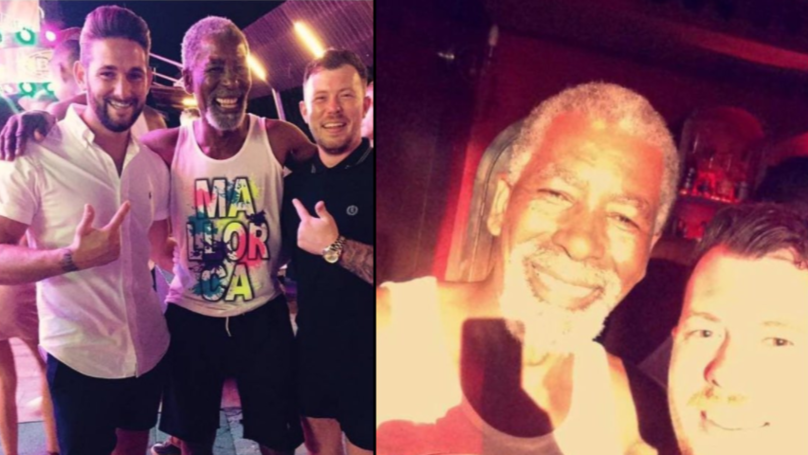 LAD's Uncle Mistaken For Morgan Freeman In Magaluf