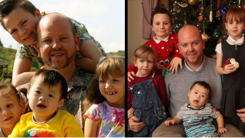 One Amazing Dad Adopted Five Children All With Special Needs