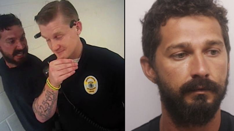Police Bodycam Captures Shia LaBeouf's Expletive Laden Rant After Arrest