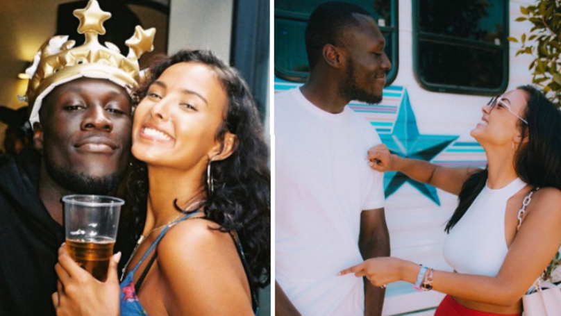 Stormzy 'Unfollows' Girlfriend Maya Jama On Instagram
