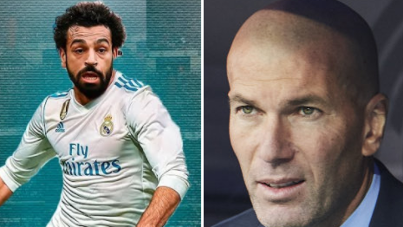 Mohamed Salah Reacts To Insane Real Madrid Transfer Rumour