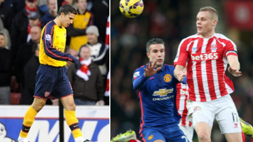 Robin van Persie Hails Stoke City Away As The 'Hardest Match In The World'