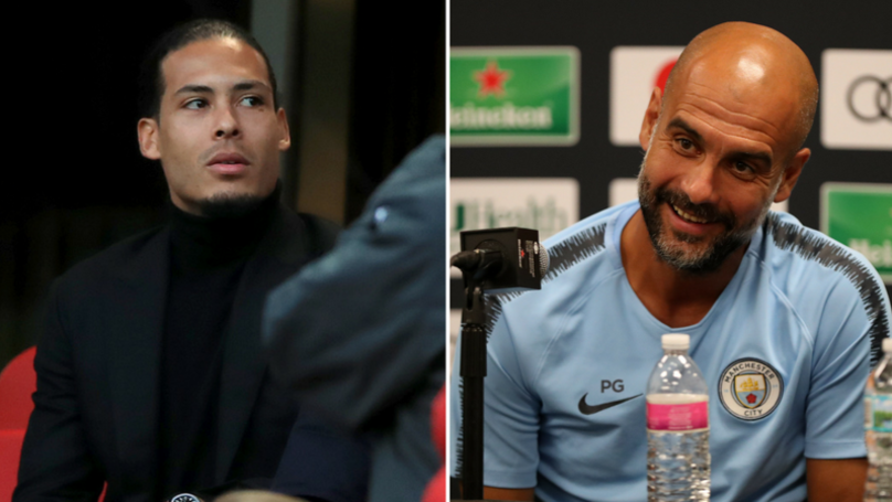 Manchester City's Reaction To Hearing The Price For Virgil Van Dijk