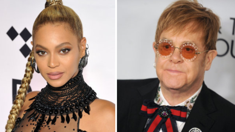 Beyoncé And Elton John Reportedly Working On New Lion King Songs