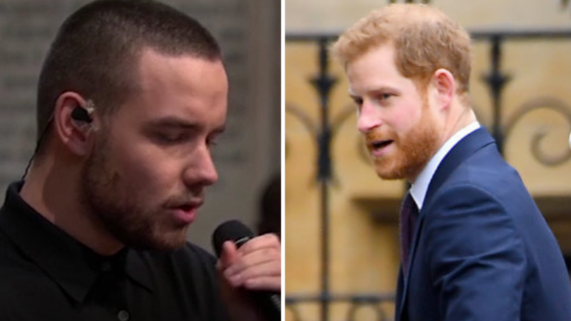 WATCH: Liam Payne's Performance At Commonwealth Service Raises Prince Harry's Eyebrows