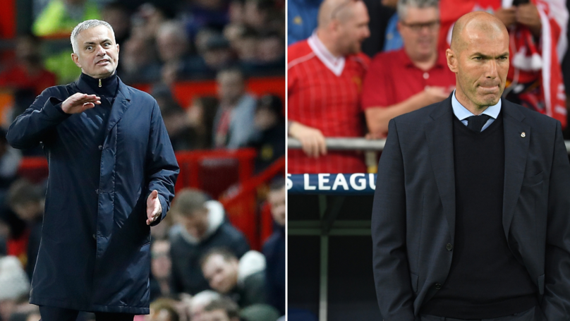 Zinedine Zidane's Agent Gives Important Update On Manchester United Rumours